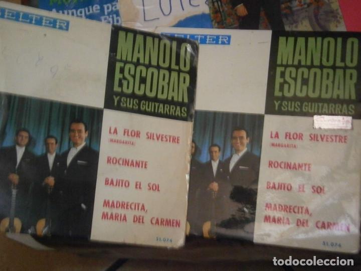 Discos de vinilo: 18 DISCOS MANOLO ESCOBAR,, NOSE ADMITE DE VOLUCIONES¡¡ - Foto 9 - 177685538