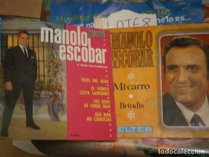 Discos de vinilo: 18 DISCOS MANOLO ESCOBAR,, NOSE ADMITE DE VOLUCIONES¡¡ - Foto 10 - 177685538