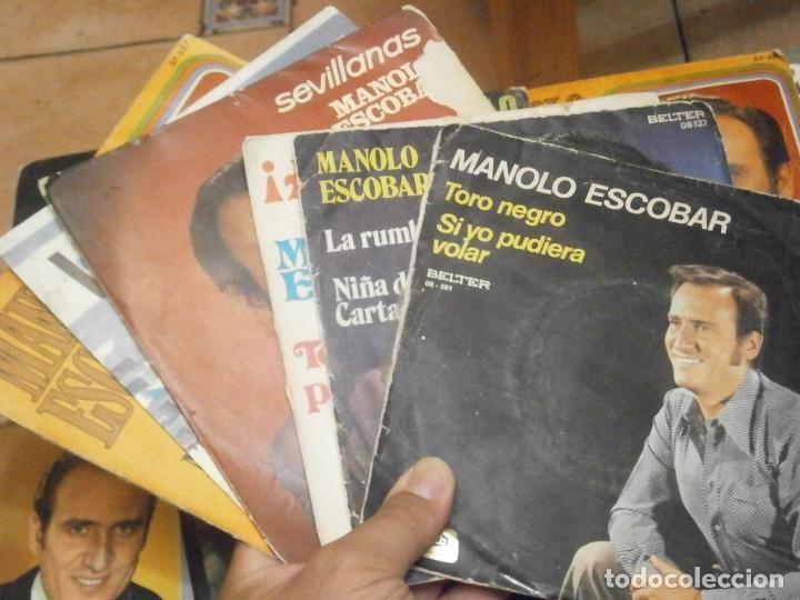 Discos de vinilo: 18 DISCOS MANOLO ESCOBAR,, NOSE ADMITE DE VOLUCIONES¡¡ - Foto 11 - 177685538