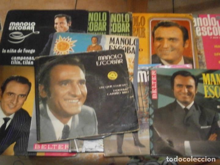 Discos de vinilo: 18 DISCOS MANOLO ESCOBAR,, NOSE ADMITE DE VOLUCIONES¡¡ - Foto 12 - 177685538