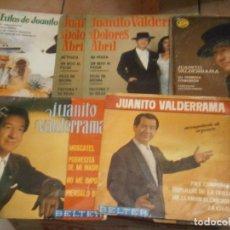 Discos de vinilo: LOTE DE 7 DISCOS JUANITO VALDERRAMA'' NOSE ADMITE DE VOLUCIONES¡¡. Lote 177685635
