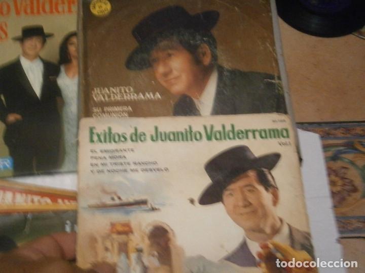 Discos de vinilo: LOTE DE 7 DISCOS JUANITO VALDERRAMA NOSE ADMITE DE VOLUCIONES¡¡ - Foto 5 - 177685635