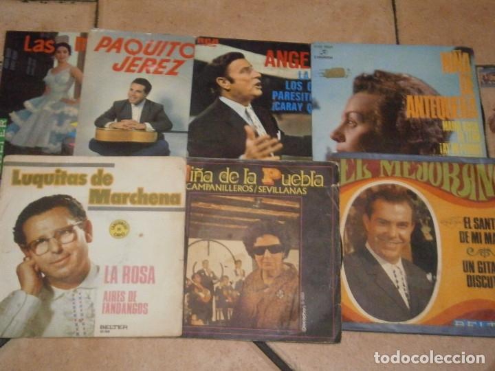 Discos de vinilo: LOTE DE 25 DISCOS DE FLAMENCO¡ NOSE ADMITE DE VOLUCIONES¡¡ - Foto 3 - 177685974
