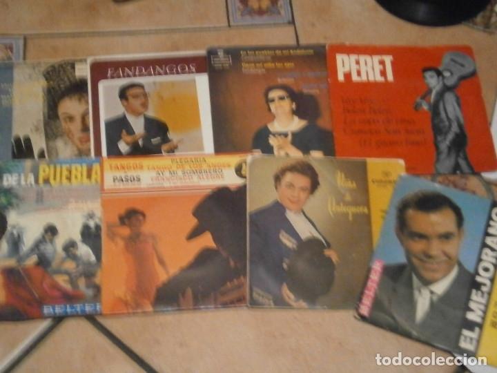 Discos de vinilo: LOTE DE 25 DISCOS DE FLAMENCO¡ NOSE ADMITE DE VOLUCIONES¡¡ - Foto 5 - 177685974