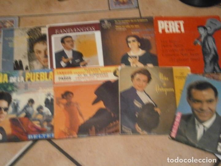 Discos de vinilo: LOTE DE 25 DISCOS DE FLAMENCO¡ NOSE ADMITE DE VOLUCIONES¡¡ - Foto 6 - 177685974