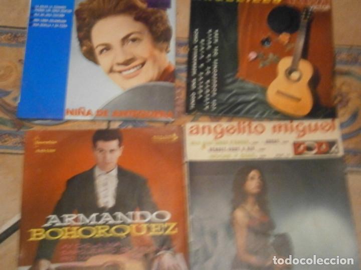 Discos de vinilo: LOTE DE 25 DISCOS DE FLAMENCO¡ NOSE ADMITE DE VOLUCIONES¡¡ - Foto 8 - 177685974
