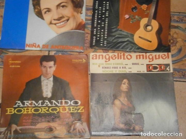 Discos de vinilo: LOTE DE 25 DISCOS DE FLAMENCO¡ NOSE ADMITE DE VOLUCIONES¡¡ - Foto 9 - 177685974