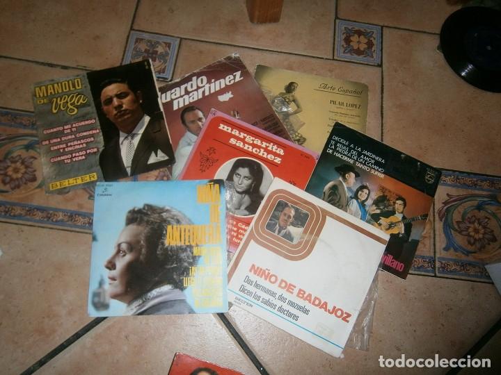 Discos de vinilo: LOTE DE 25 DISCOS FLAMENCO NOSE ADMITE DE VOLUCIONES¡¡ - Foto 4 - 177686083