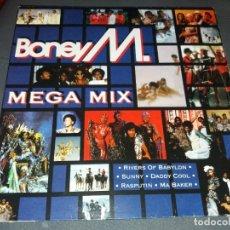 Discos de vinilo: BONEY M.--- MEGA MIX. Lote 177692309