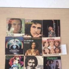 Discos de vinilo: NUEVE DISCOS SINGLES. Lote 177693352