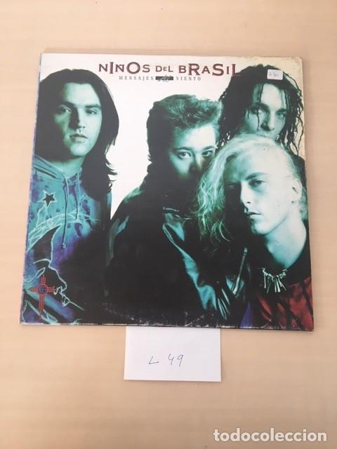DISCO NIÑOS DEL BRASIL (Música - Discos de Vinilo - EPs - Grupos Españoles de los 90 a la actualidad)