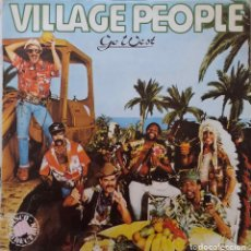 Discos de vinilo: VILLAGE PEOPLE. GO WEST. LP ESPAÑA. Lote 177694240