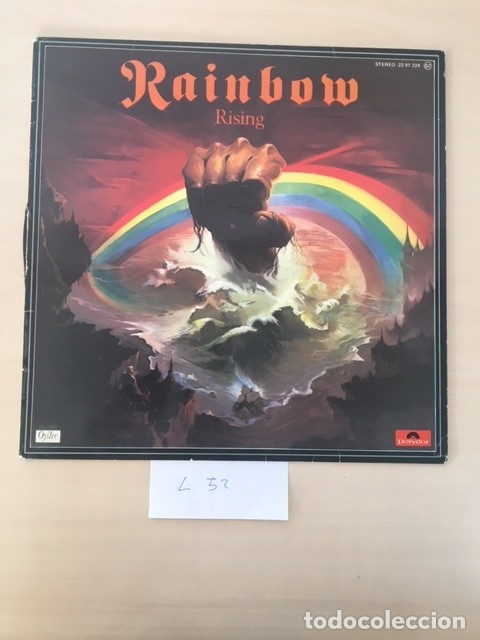 RAINBOW RISING LP VINILO (HARD ROCK, HEAVY METAL) (Música - Discos - LP Vinilo - Heavy - Metal)