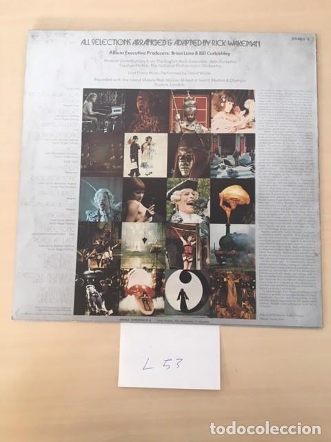 Discos de vinilo: BANDA SONORA DE LA PELICULA LISZTOMANIA LP VINILO - Foto 2 - 177695269