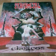 Discos de vinilo: TRANSMETAL- CLÁSICOS . LP VINILO PERFECTO ESTADO - METAL MÉXICO. Lote 177696658