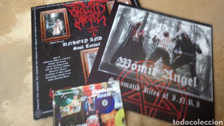 Discos de vinilo: Wömit Angel–Sodomatik Rites Of I.N.R.I - Lp vinilo nuevo. Black metal - trash - punk - Foto 2 - 177698813