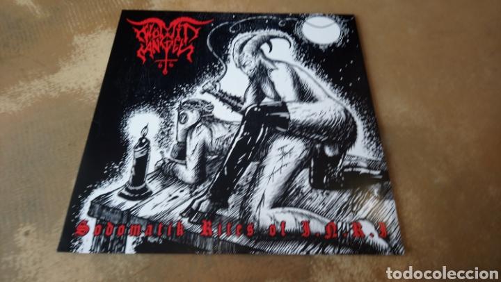 WÖMIT ANGEL–SODOMATIK RITES OF I.N.R.I - LP VINILO NUEVO. BLACK METAL - TRASH - PUNK (Música - Discos - LP Vinilo - Heavy - Metal)
