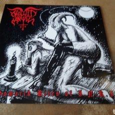 Discos de vinilo: WÖMIT ANGEL–SODOMATIK RITES OF I.N.R.I - LP VINILO NUEVO. BLACK METAL - TRASH - PUNK. Lote 177698813