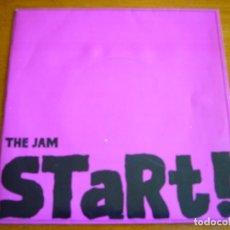Discos de vinilo: THE JAM - START! 1980 MOD REVIVAL ORIGINAL SINGLE. Lote 177700437