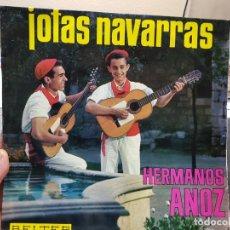 Discos de vinilo: LP-JOTAS NAVARRAS- BELTER 1966 EN FUNDA ORIGINAL . Lote 177700897