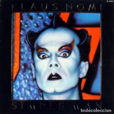 Discos de vinilo: KLAUS NOMI, SIMPLE MAN, LP SPAIN 1982. Lote 177706148