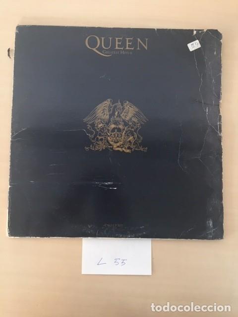 QUEEN GREATEST HITS II LP 2DISCOS (Música - Discos - LP Vinilo - Pop - Rock Extranjero de los 90 a la actualidad)