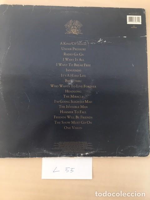Discos de vinilo: QUEEN Greatest Hits II LP 2DISCOS - Foto 3 - 177706947