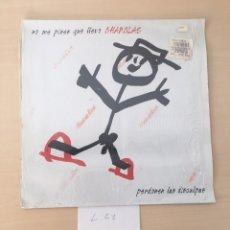 Discos de vinilo: DISCO VINILO NO ME PISES QUE LLEVO CHANCLAS - PERDONEN LAS DISCULPAS. Lote 177709033