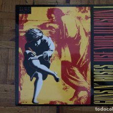 Discos de vinilo: GUNS N' ROSES ‎– USE YOUR ILLUSION I SELLO: GEFFEN RECORDS ‎– GEF 24415 (5L), GEFFEN RECORDS. Lote 177710317