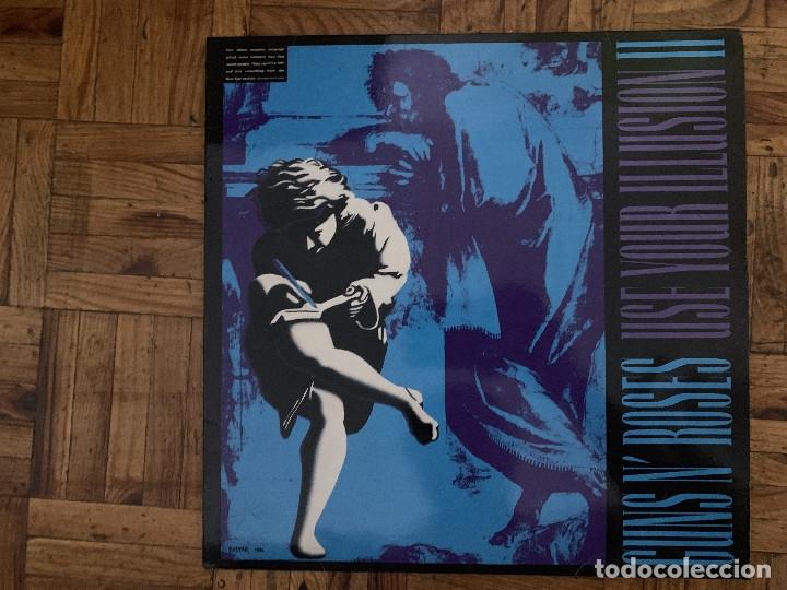 GUNS N' ROSES – USE YOUR ILLUSION II SELLO: GEFFEN RECORDS – 5L GEF 24420, GEFFEN RECORDS – GEF (Música - Discos - LP Vinilo - Pop - Rock Extranjero de los 90 a la actualidad)