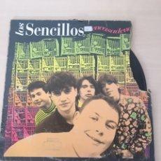 Discos de vinilo: LOS SENCILLOS - EN CASA DE NADIE LP VINILO. Lote 177711035