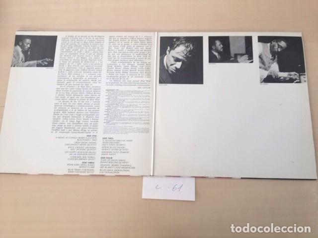 Discos de vinilo: UNA DECADA DE JAZZ VOLUMEN DOS LP VINILO 2 DISCOS - Foto 2 - 177711594