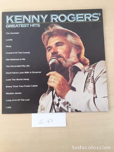 KENNY ROGERS DISCO VINILO LP (Música - Discos - LP Vinilo - Country y Folk)