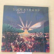 Discos de vinilo: SUPERTRAMP - PARIS, DISCO VINILO LP 2 DISCOS. Lote 177712584