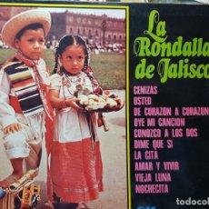 Discos de vinilo: LP-LA RONDALLA DE JALISCO- DE GM GRAMUSIC EN FUNDA ORIGINAL 1973. Lote 177713319