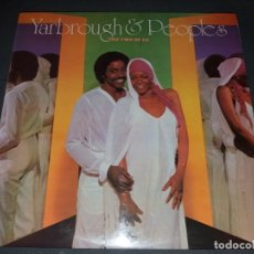 Discos de vinilo: YARBROUGH & PEOPLES --- THE TWO OF US. Lote 177714972