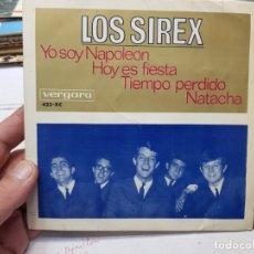 Discos de vinilo: SINGLE -LOS SIREX-YO SOY NAPOLEON 1966 EN FUNDA ORIGINAL . Lote 177715389