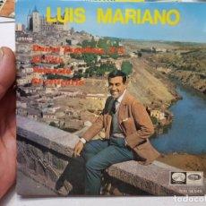 Discos de vinilo: SINGLE-LUIS MARIANO-EL REPLICARIO DE EMI ,LA VOZ DE SU AMO 1964 EN FUNDA ORIGINAL. Lote 177717694