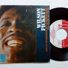 Discos de vinilo: SINGLE - WILSON PICKETT : I'M A MIDNIGHT MOVER + THAT KIND OF LOVE (ATLANTIC, 1968) SOUL - R&B. Lote 177717938