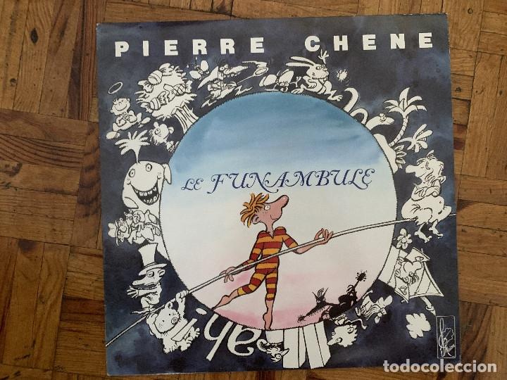 PIERRE CHÊNE ?– LE FUNAMBULE SELLO: MAÏON ?– CH9 FORMATO: VINYL, LP PAÍS: FRANCE FECHA: 1989 GÉNERO (Música - Discos - LP Vinilo - Canción Francesa e Italiana)
