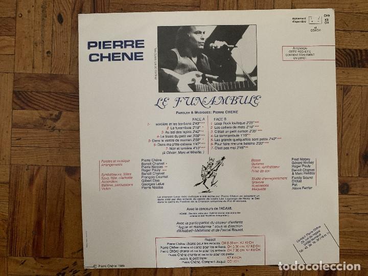 Discos de vinilo: Pierre Chêne ?– Le Funambule Sello: Maïon ?– CH9 Formato: Vinyl, LP País: France Fecha: 1989 Género - Foto 2 - 177718180