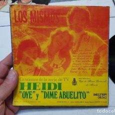 Discos de vinilo: SINGLE-LOS MISMOS-DIME ABUELITO DE HEIDI 1975 EN FUNDA ORIGINAL. Lote 177718202