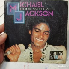 Discos de vinilo: SINGLE-MICHAEL JAKCSON-ROCK WITH YOU 1979 EN FUNDA ORIGINAL. Lote 177718432