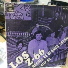 Discos de vinilo: LOS Z 66 SINGLE PROMO EXCELENTE POP ESPAÑOL COLECCIÓN BEATLES. Lote 177718518