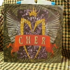 Discos de vinilo: CHER ?– LOVE AND UNDERSTANDING / TRAIL OF BROKEN HEARTS, GEFFEN RECORDS ?– GES19033, 1991. . Lote 177720784
