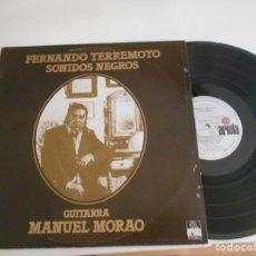 Discos de vinilo: FERNANDO TERREMOTO-LP SONIDOS NEGROS. Lote 177722797
