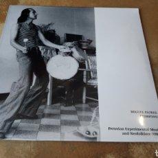 Discos de vinilo: MIGUEL FLORES PRIMITIVO. PERUVIAN EXPERIMENTAL MUSIC AND NEOFOLKLORE (1983) LP VINILO PRECINTADO. Lote 177722982