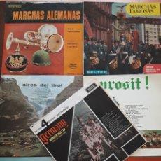 Discos de vinilo: LOTE 7 LP MARCHAS ALEMANAS Y OTROS CENTRO EUROPA. Lote 177705307