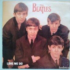 Discos de vinilo: THE BEATLES - SINGLE LOVE ME DO PROMOCIONAL (MUY RARO, EDICION ESPAÑOLA). Lote 177724042