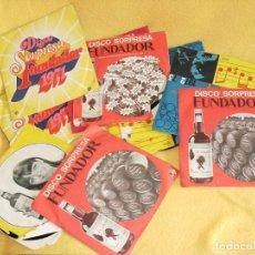 Discos de vinilo: LOTE 10 DISCOS SORPRESA DE FUNDADOR. Lote 177727408